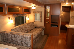Motor Home Interior