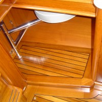 boat interior storage