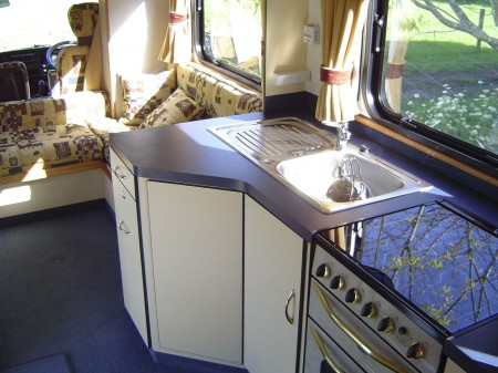 campervan kitchen motorhome renovation