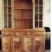 custom built kitchen dresser