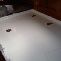 galley benchtop locker