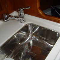 galley kitchen sink