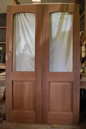 home renovation interior timber doors