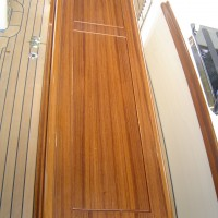 joinery on yacht deck