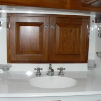 marine bathroom joinery