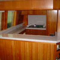 marine galley benchtop