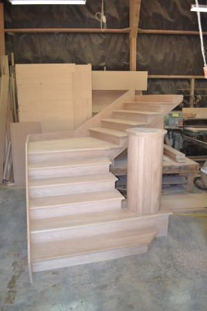 custom built oak staircases